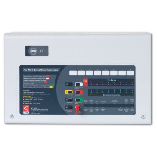 CFP760 C-Tec 8 Zone Repeater Panel