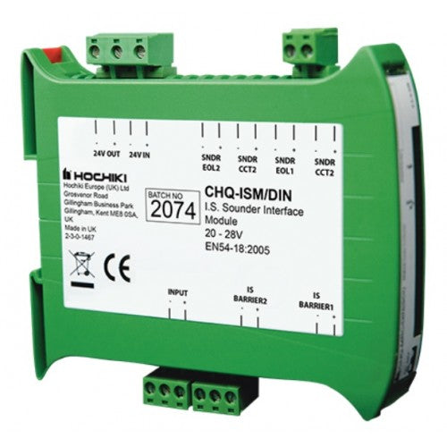 CHQ-ISM/DIN Intrinsically Safe Compatible Sounder Module - DIN Enclosure