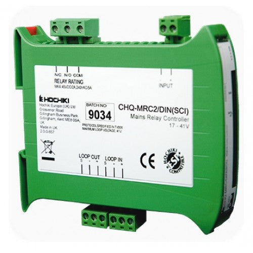 CHQ-MRC2/DIN(SCI) Mains Relay Controller DIN Enclosure with SCI