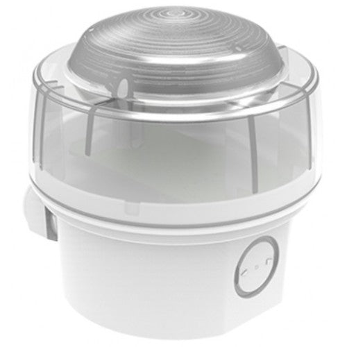 CWST-WR-W5 Conventional Beacon - White case, red LEDs (IP65)
