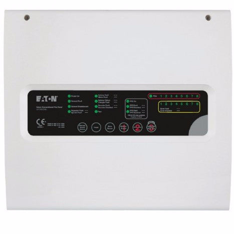 EFCV8Z-NB Eaton 8 Zone Conventional Panel