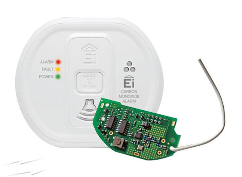 Ei 208WRF  RadioLINK CO Alarm Lithium Battery Backup