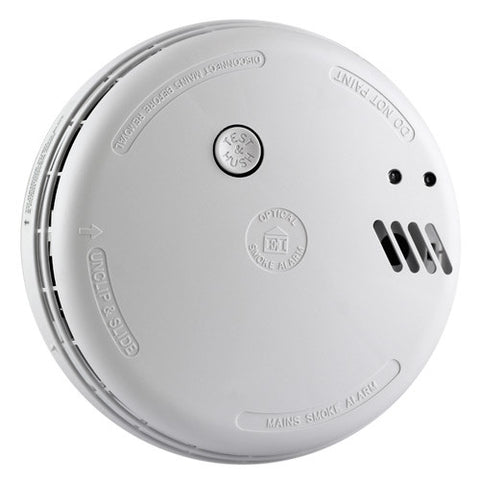 Ei 146rc Optical Smoke Alarm 230v + Alkaline Backup