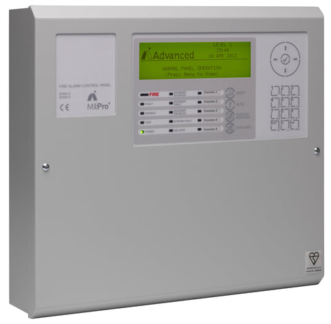 MX-4100 Advanced 1 Loop, Analogue Addressable Panel