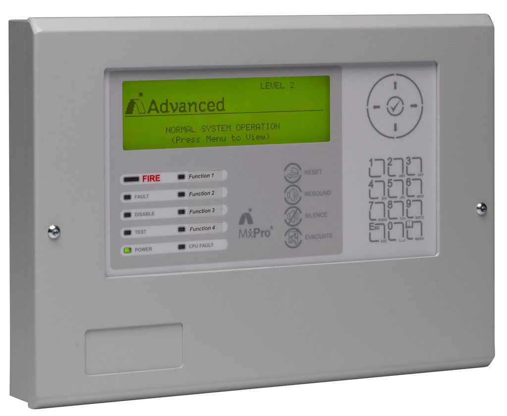 Advanced MX Pro 4 Repeater Panel User Manual