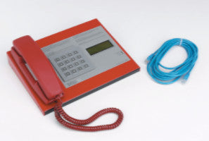 ECU-128 128 Line Desk Control Unit Comes With Phone & Display