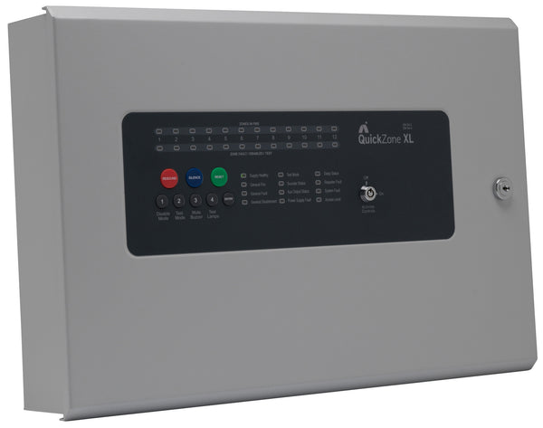 QZXL-12 Quickzone XL 12 Zone Conventional Fire Panel