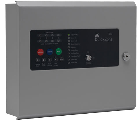 QZ-2 Advanced Quickzone 2 Zone Conventional Fire Alarm Panel
