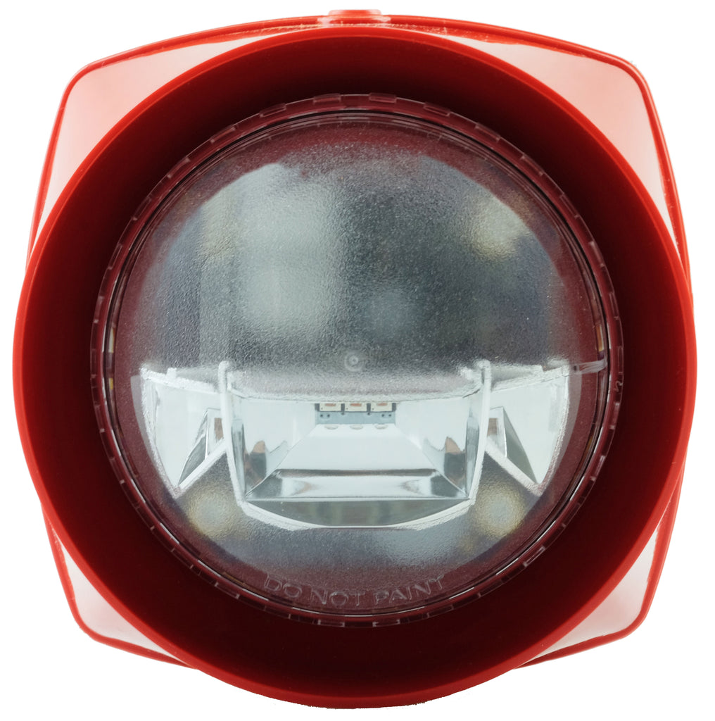 S3-S-VAD-HPR-R S3 red Body Sounder High Power red VAD