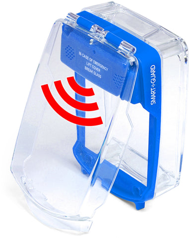 SG-SS-B Smart+Guard Call Point Cover, Surface, Sounder, BLUE