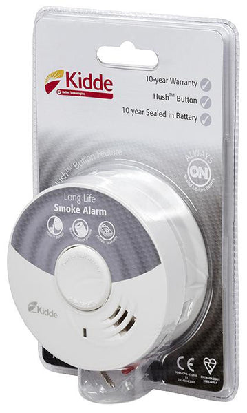 KIDDE 10Y29-UK  SMOKE ALARM 10 YEAR SEALED BATTERY PK6