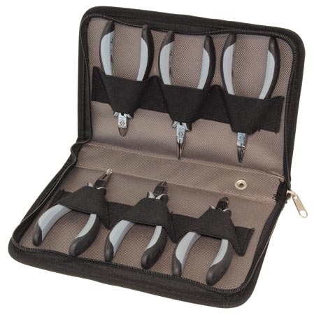 T3703D ESD Pliers Set - 6 Piece
