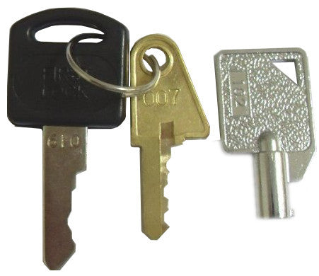 Ziton Panel Key Set