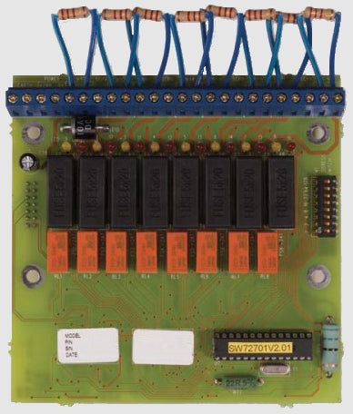 48701 ZP3AB-MA8  8 way monitored alarm driver board