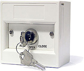 K21SWS-11 White 2 Position Keyswitch (Trapped key)