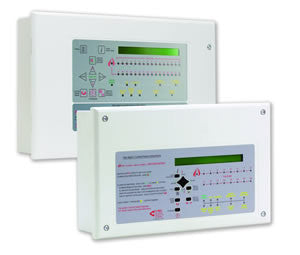 XFP501EK/H C-Tec Networkable Single Loop 16 Zone Fire Alarm Panel (ESP Hochiki Version) Key Entry