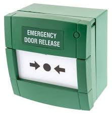 MCP3A-G000SG12 Green Emergency Door Release Glass