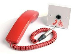 EVC301/PH Roaming Fire Telephone Handset with Heavy Duty Jack Plug