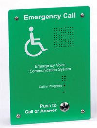 EVC302GF Disabled Refuge System Outstation (Flush Mounting)