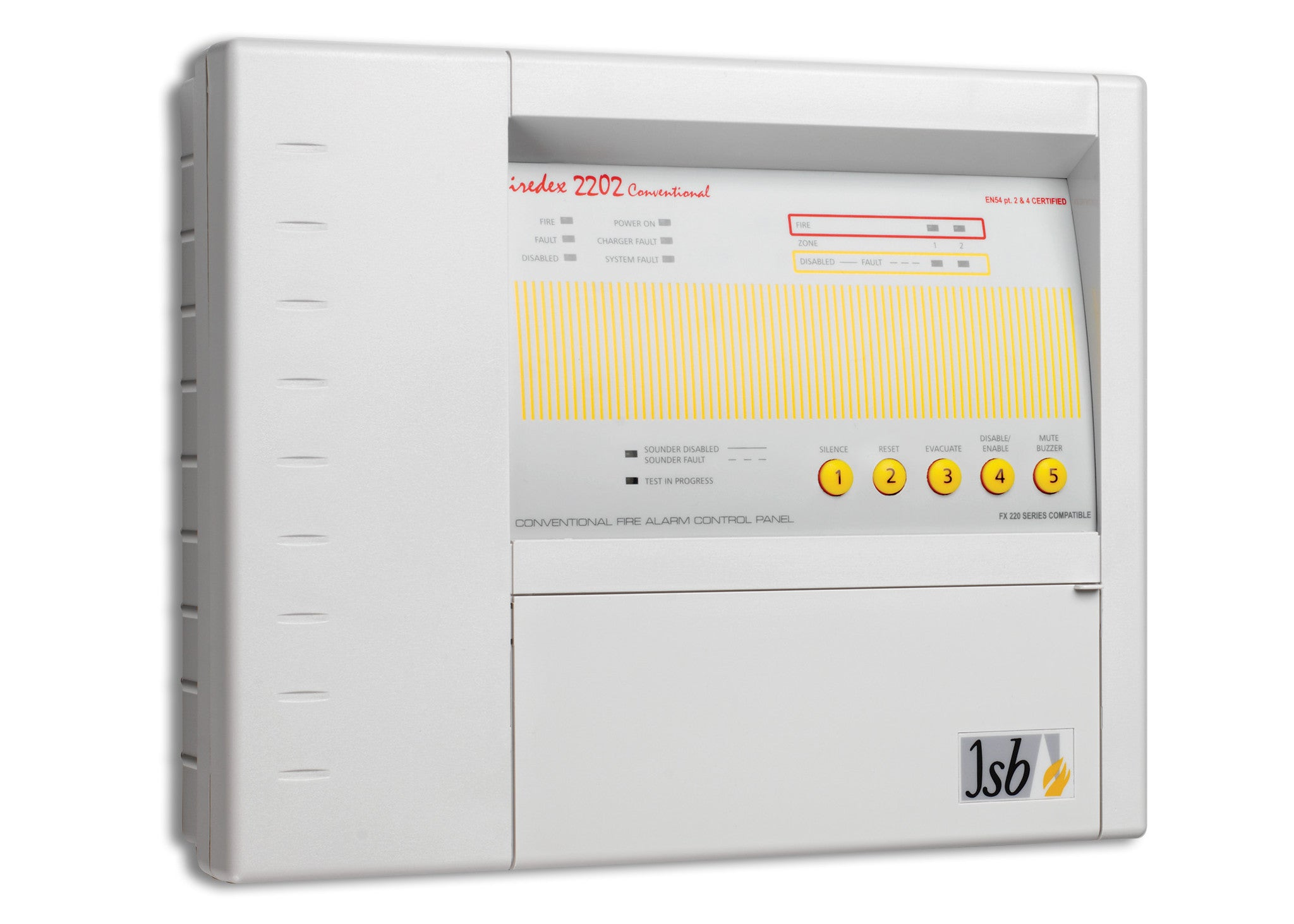 FX2202CFCPD Firedex Conventional Two Zone Fire Alarm Panel - Fire ...