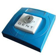 S4-34418 Gent Key Switch Interface (Single Channel) C/W Blue Enclosure