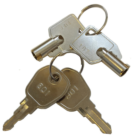 K801-107 Key 801 & Key 107 Twin Pack