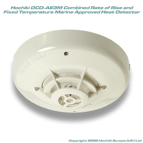 DCD-AE3M Hochiki Marine Approved Combined Heat Detector FT 60C (EN Class A 1/A 1R)