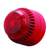 ROLPSB/SV/RL/R/S Fulleon ROLP Solista Sounder Beacon Red Shallow Base