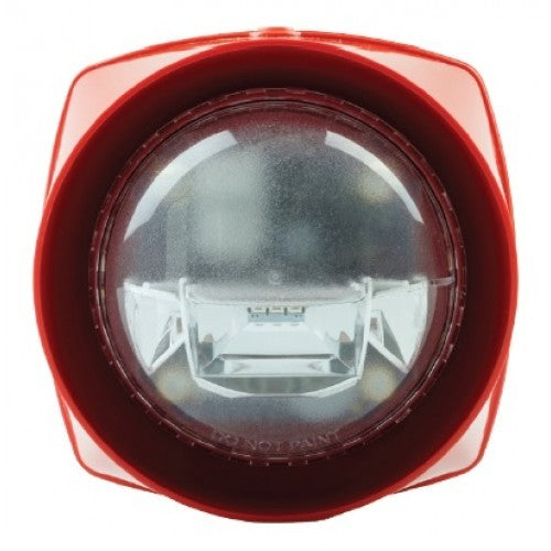 S3-S-VAD-HPW-R GENT S3 red Body High Power White Sounder VAD
