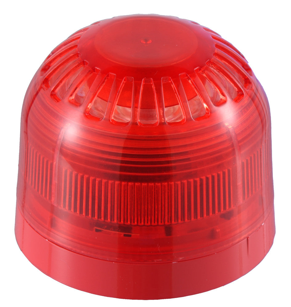 PSC-0002 Klaxon Red Sonos Sounder Beacon (DC)