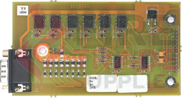 49901 ZP3-CB1  RS232 port and commissioning keyswitch board