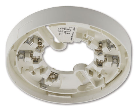 ZP7-SB1-P - ZP7 Series Addressable Detector Base, Surface Mounting