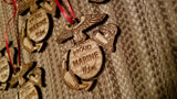 Marine Corps EGA Ornaments and Dog Tag Ornaments - Larry's Woodworkin'