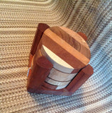 Round Wooden Drink Coasters - Larry's Woodworkin'