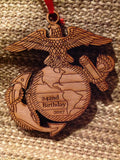 Marine Corps Birthday Christmas Ornament