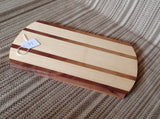 Walnut and Aspen Cutting Board / Serving Tray - Larry's Woodworkin'