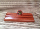 2 Row Military Challenge Coin Display - Larry's Woodworkin'