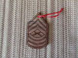Marine Corps Rank Christmas Ornaments - Larry's Woodworkin' - 6