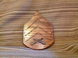 Marine Corps Rank Insignia Display - Larry's Woodworkin'