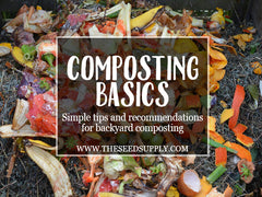 what can you compost - the seed supply