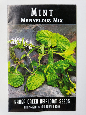 Marvelous Mix Mint Seed, 200ct