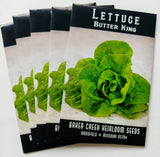 Butter King Lettuce Seed, 250ct
