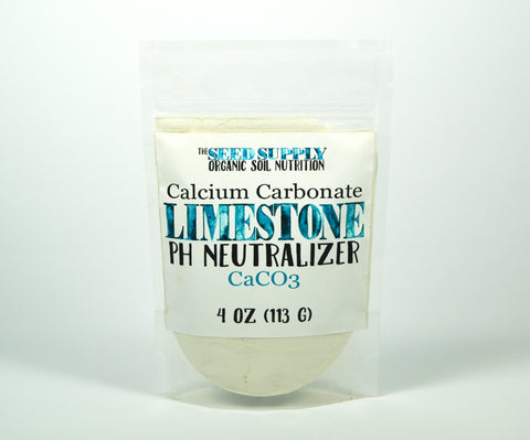 Calcium Carbonate Limestone - pH Neutralizer - The Seed Supply - 4