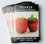 California Wonder Pepper Seed, 25ct
