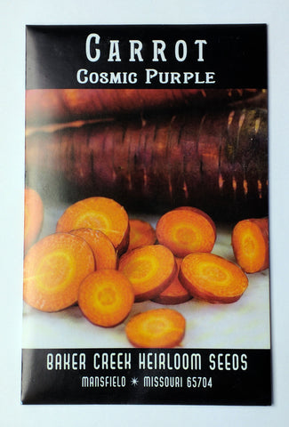 cosmic purple carrot seed