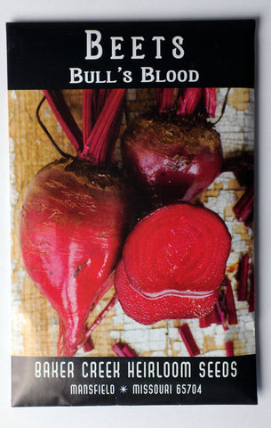 Bull's Blood Beet Seed, 250ct