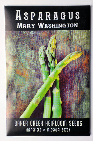 Mary Washington Asparagus Seed, 100ct