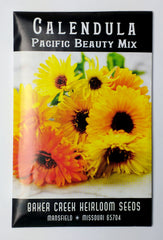 Pacific Beauty Mix Calendula Seed, 125ct