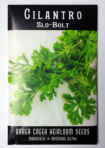 Slo-Bolt Cilantro, 100ct