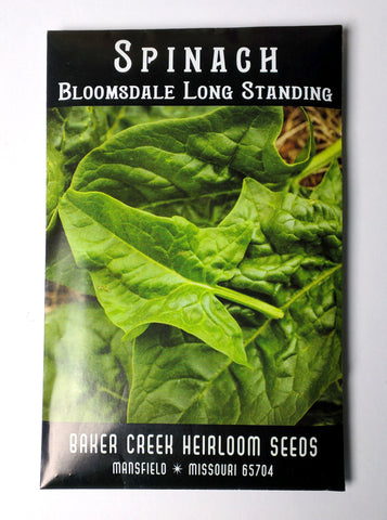 Bloomsdale Long Standing Spinach Seed, 250ct